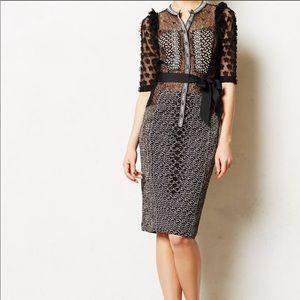 Beguile By Byron Lars Allusione Sheath Dress